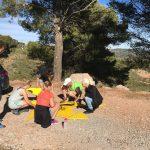 adventure run tijdens outdoor week voor scholen