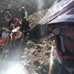 selfie tijdens sportvakanties in Spanje