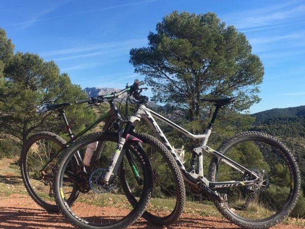 MTB reizen in Spanje
