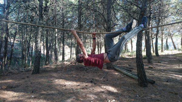 survival tijdens yoga en actief outdoor vakantie