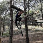 survival tijdens outdoor week voor scholen