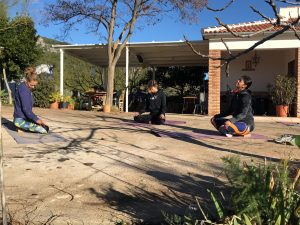 Yoga & hiking/trailrunning retreat + ayuvedische massage