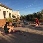 yoga sportvakantie in Spanje