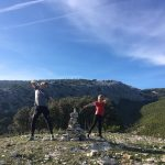 hike tijdens sportvakanties in Spanje