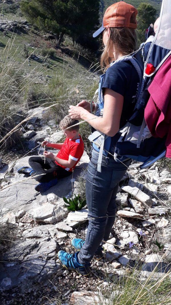 outdoor tijdens actieve gezinsvakantie in Spanje