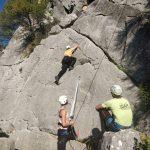 rots klimmen tijdens leiderschap retraite