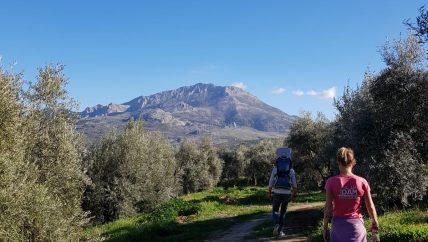 hike tijdens leiderschap retraite