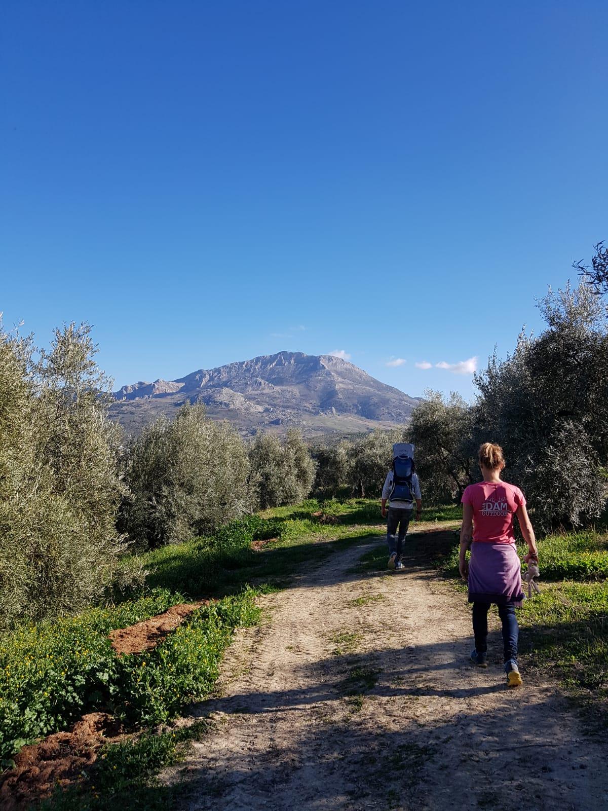 hike tijdens leiderschap retraite en blog over Andalusie