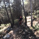 single track a mountainbike sport holiday in Spain