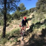 single track tijdens mountainbike vakanties in Spanje