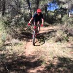 single track at sport mountainbike holiday in Spain