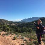 uitzicht tijdens sport vakanties in Spanje
