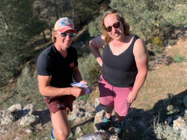 geo caching tijdens outdoor sportvakanties in Spanje