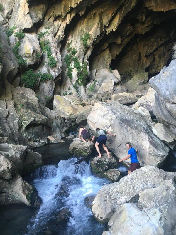 cueva del gato tijdens outdoor sportvakantie in Spanje