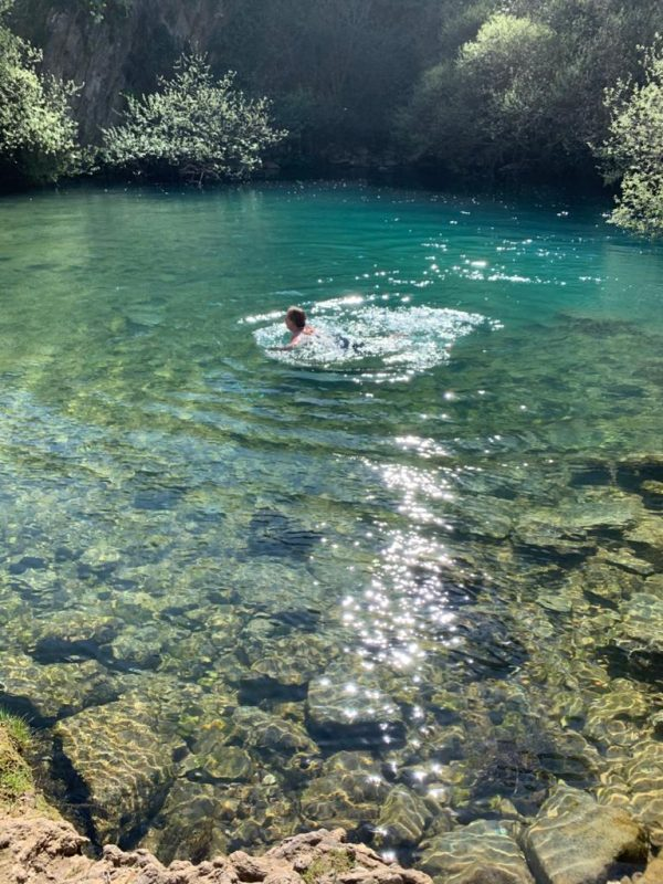 zwemmen tijdens outdoor vakantie op maat