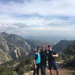 uitzicht tijdens hiking vakantie in Zuid Spanje