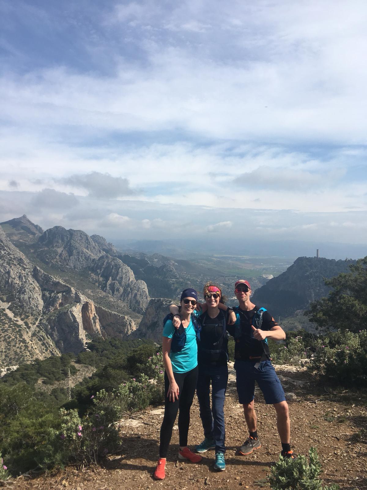 uitzicht op caminito del rey tijdens sportvakanties in Spanje