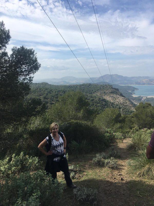 uitzicht tijdens outdoor vakantie op maat