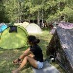 kamperen tijdens outdoorvakantie in Frankrijk
