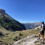 trailrun tijdens outdoorvakantie in Frankrijk