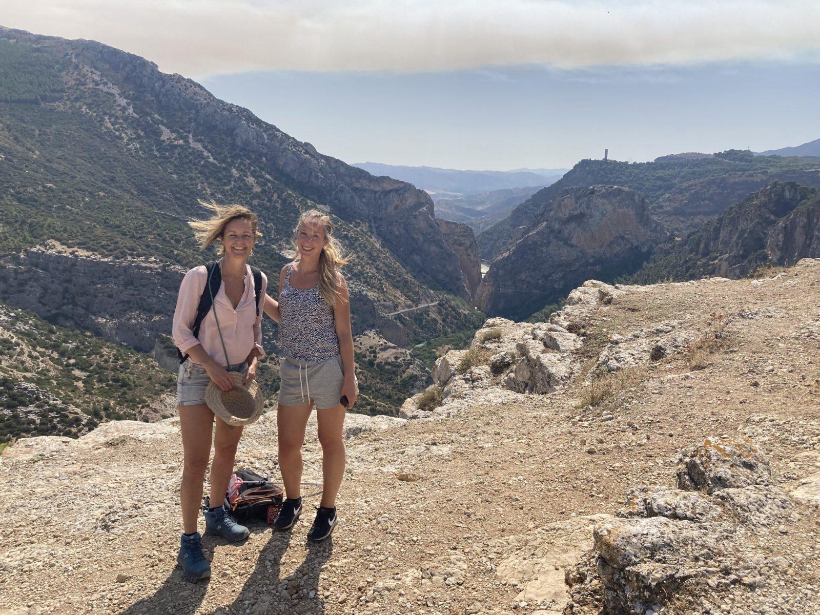 yoga en hiking